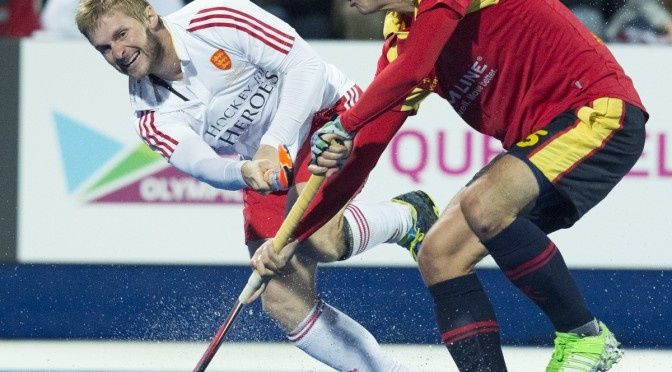 Hosts England through to last four of EuroHockey Championships after convincing victory against Spain