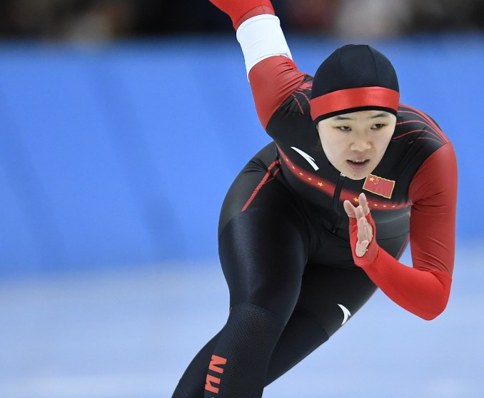 Speed skater Shi Xiaoxuan has been removed from the Chinese Olympic team ©Getty Images