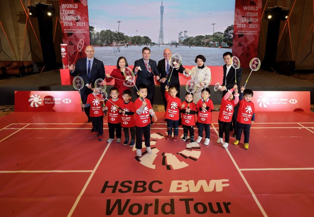 The BWF have launched their rebranded World Tour in Guangzhou ©BWF