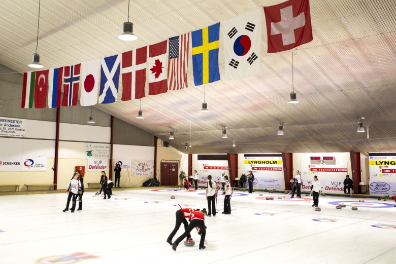 Taarnby Curling Club will host this year's European C-Division Championships ©WCF