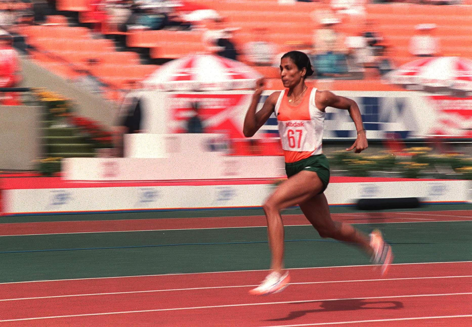 India's P T Usha was the star of the Seoul 1986 Asian Games ©Getty Images