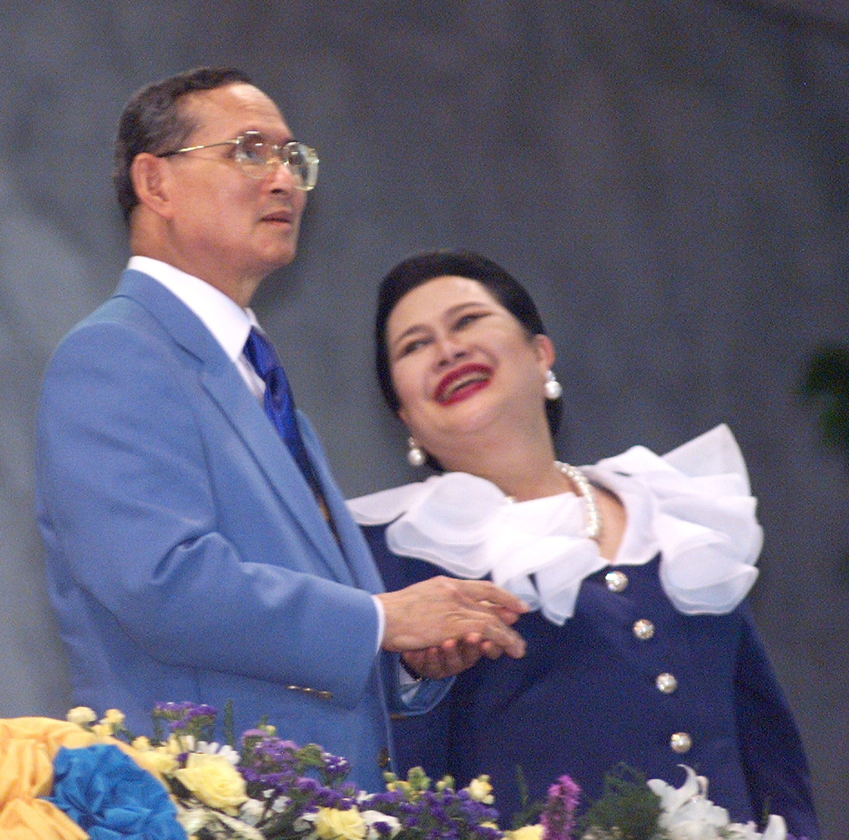 The 1998 Asian Games in Bangkok were opened by the King of Thailand, Bhumibol Adulyadej ©Getty Images