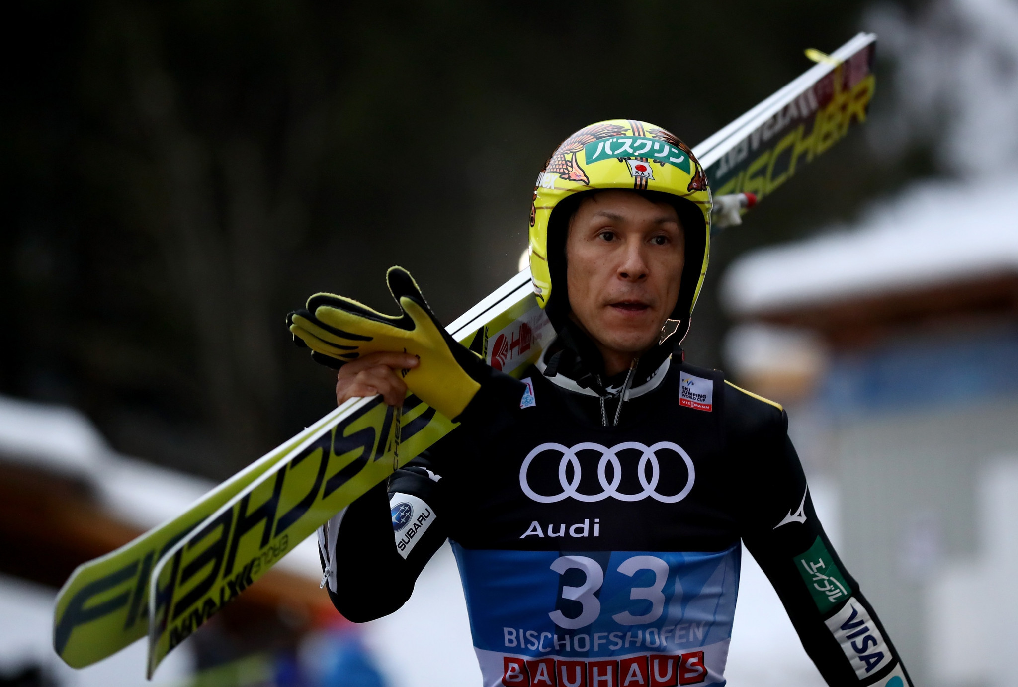 Ski jumper Kasai set to make record eighth Winter Olympics appearance at Pyeongchang 2018