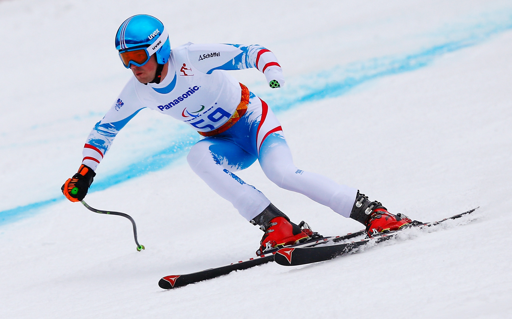 Wuerz and Loesch gain slalom wins at World Para Alpine Skiing World Cup in Zagreb