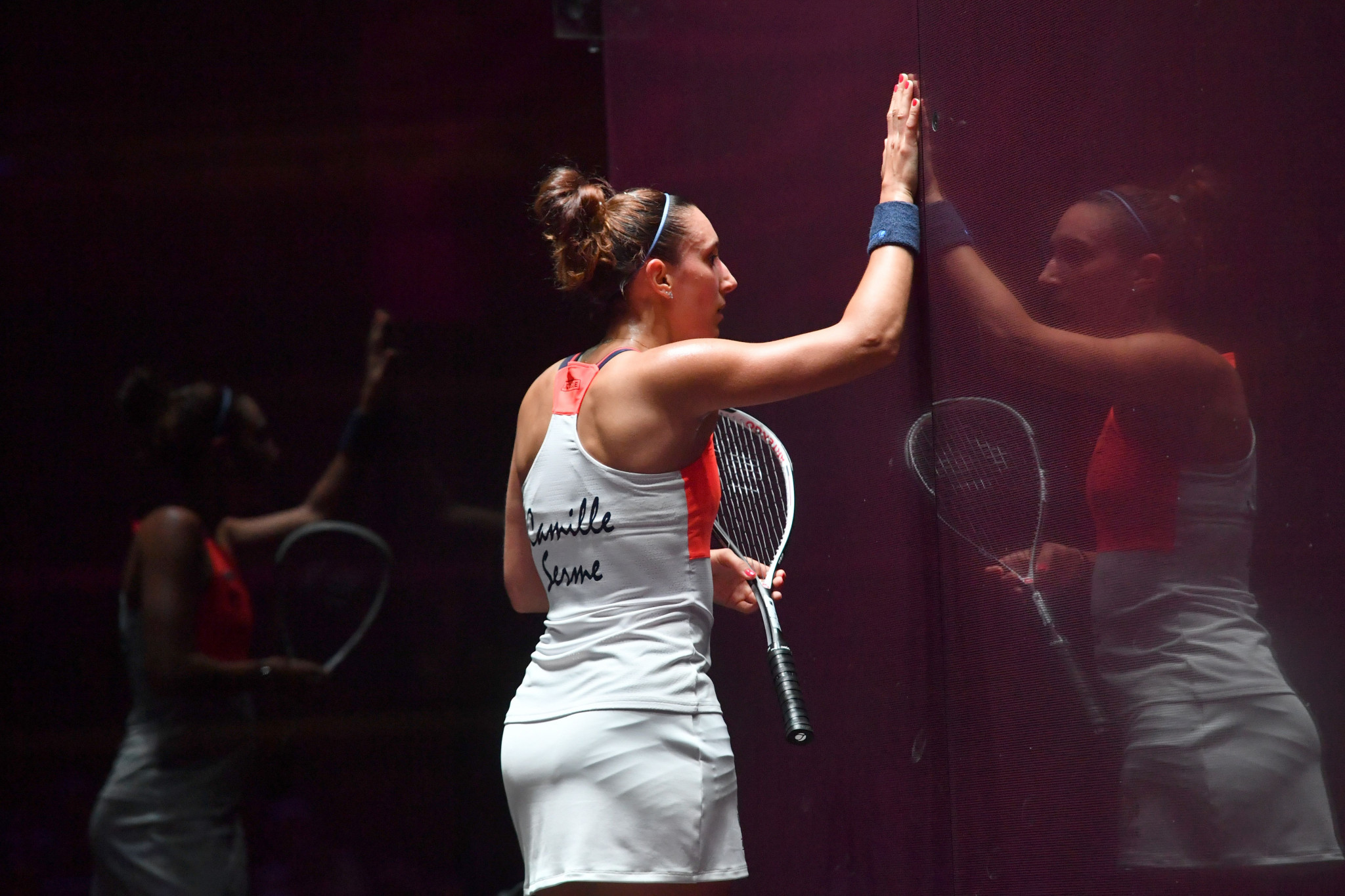 Serme eases past local wildcard to reach PSA Saudi Women's Masters second round
