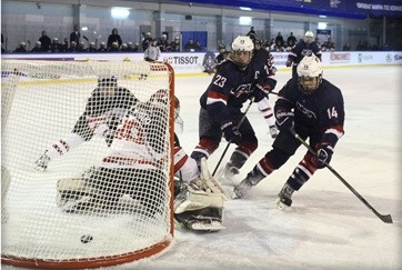 United States thrash Canada to reach semi-finals of IIHF Women's Under-18 World Championships