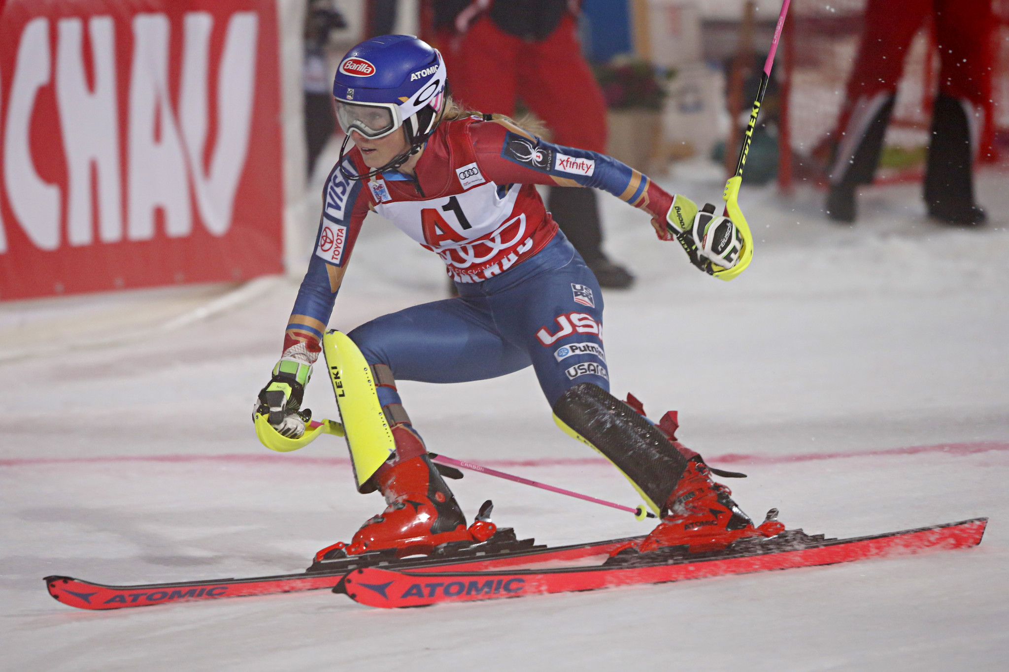 Mikaela Shiffrin posts fifth straight World Cup win