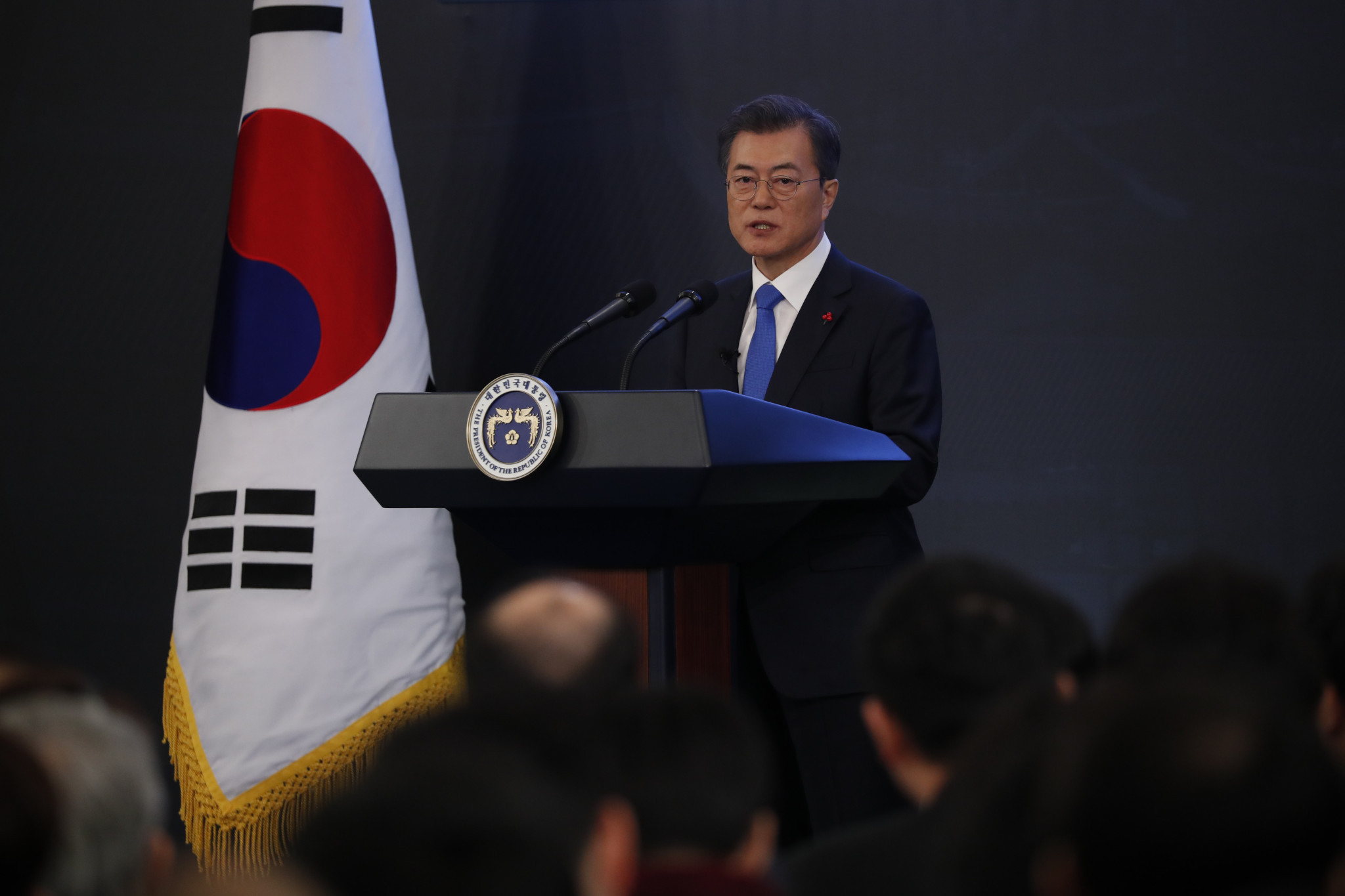 South Korean President Moon Jae-in hopes 2018 could be a turning point in relations on the Korean Peninsula ©Getty Images