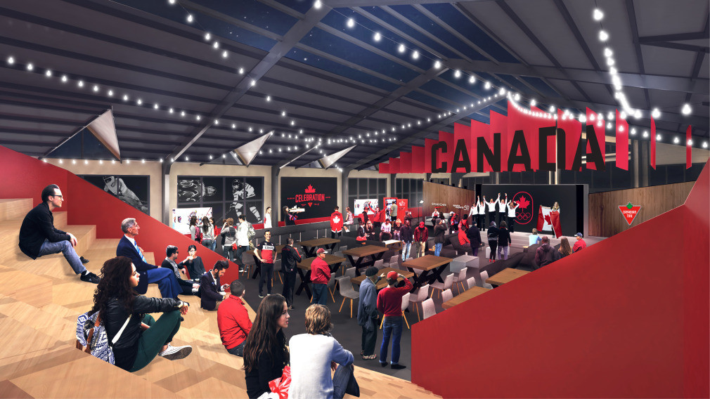 Canada unveil Olympic House design for Pyeongchang 2018