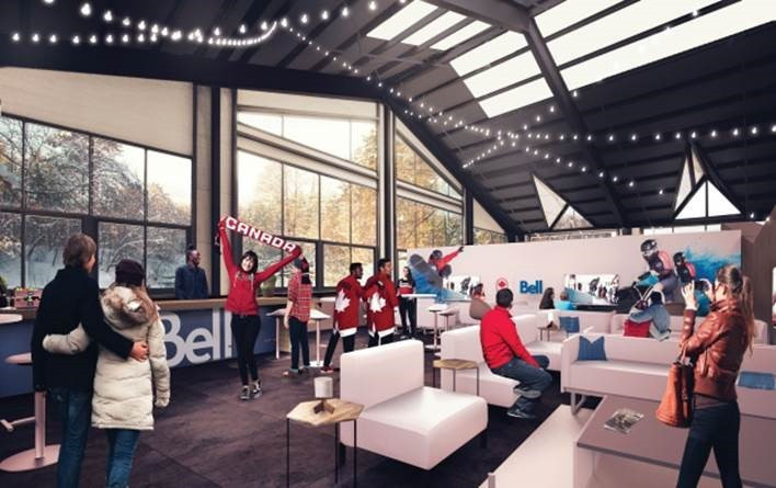 The house is designed to be a home-away-from-home for Canadians during the upcoming Winter Games ©COC