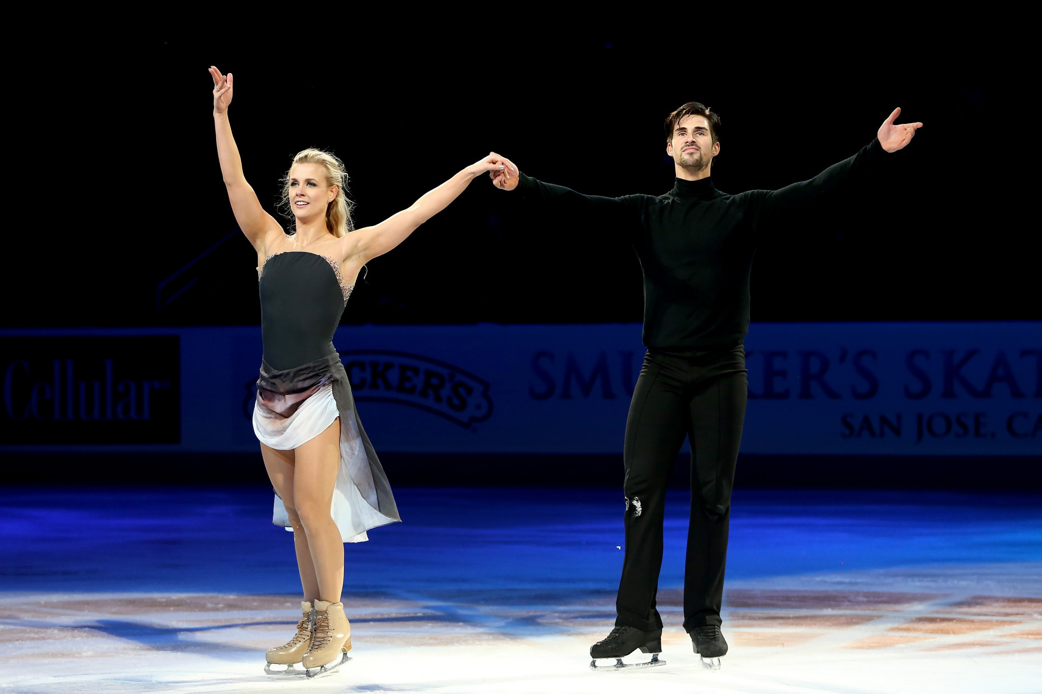 Madison Hubbell and Zachary Donohue are among the ice dance teams ©Getty Images
