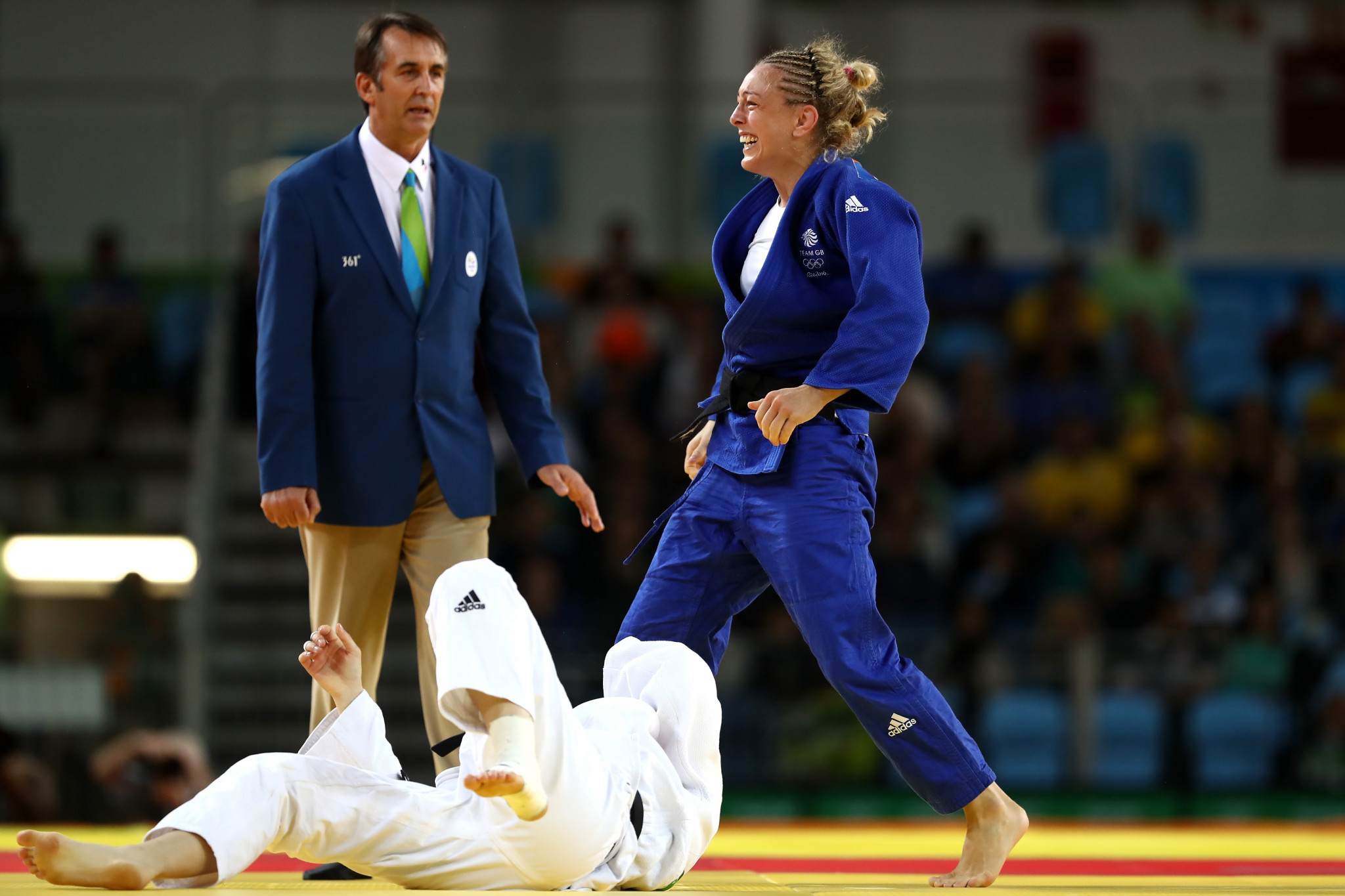Rio 2016 Olympic bronze medallist Sally Conway is among the 10 athletes named on British Judo's team for next month's Paris Grand Slam ©Getty Images