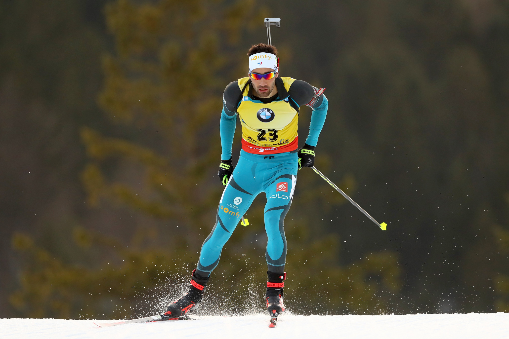 Fourcade clinches fourth consecutive IBU World Cup victory with 20km triumph in Ruhpolding