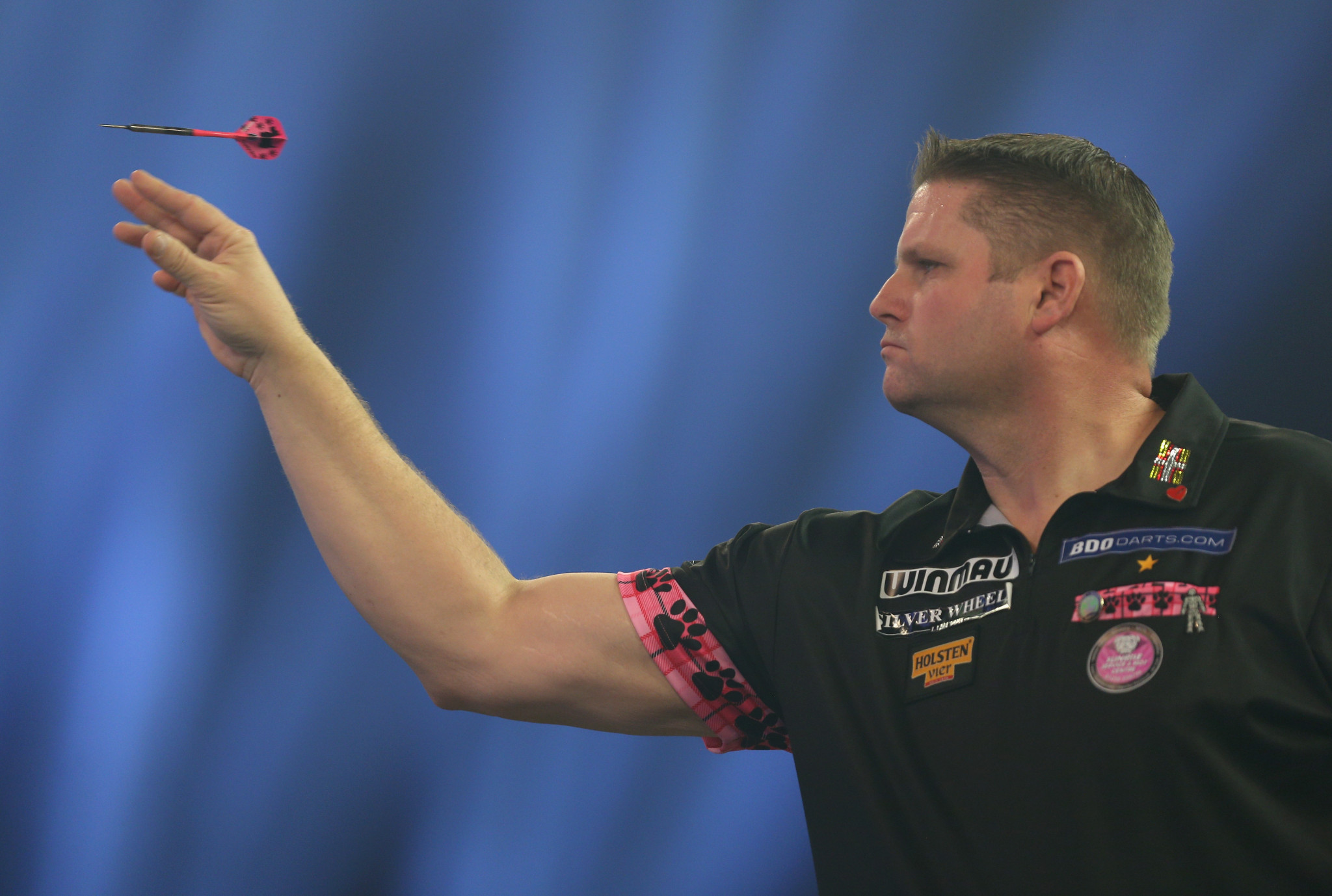 Mitchell suffers second round loss at BDO World Championships