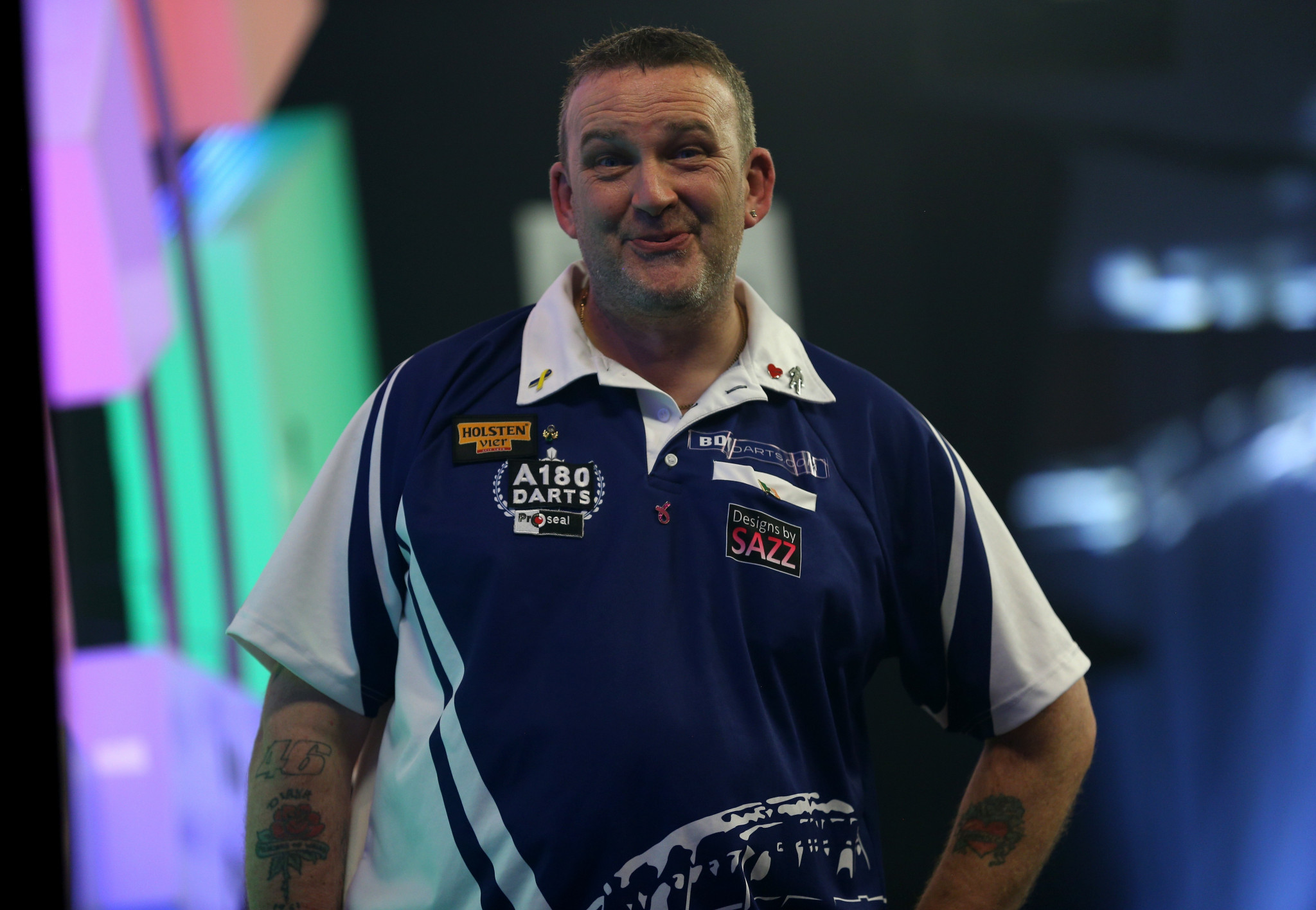 Second seed Mark McGeeney earned a place in the quarter-finals ©Getty Images