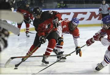 Canada set up semi-final with United States at IIHF Women's Under-18 World Championships