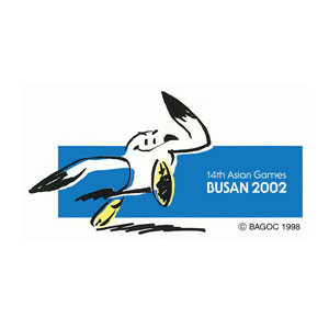 Duria, the seagull, was the mascot for Busan 2002 ©OCA