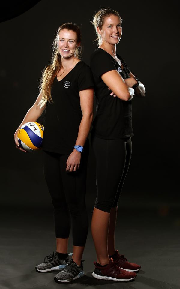 Beach volleyball players Wills and Polley named on New Zealand team for Gold Coast 2018