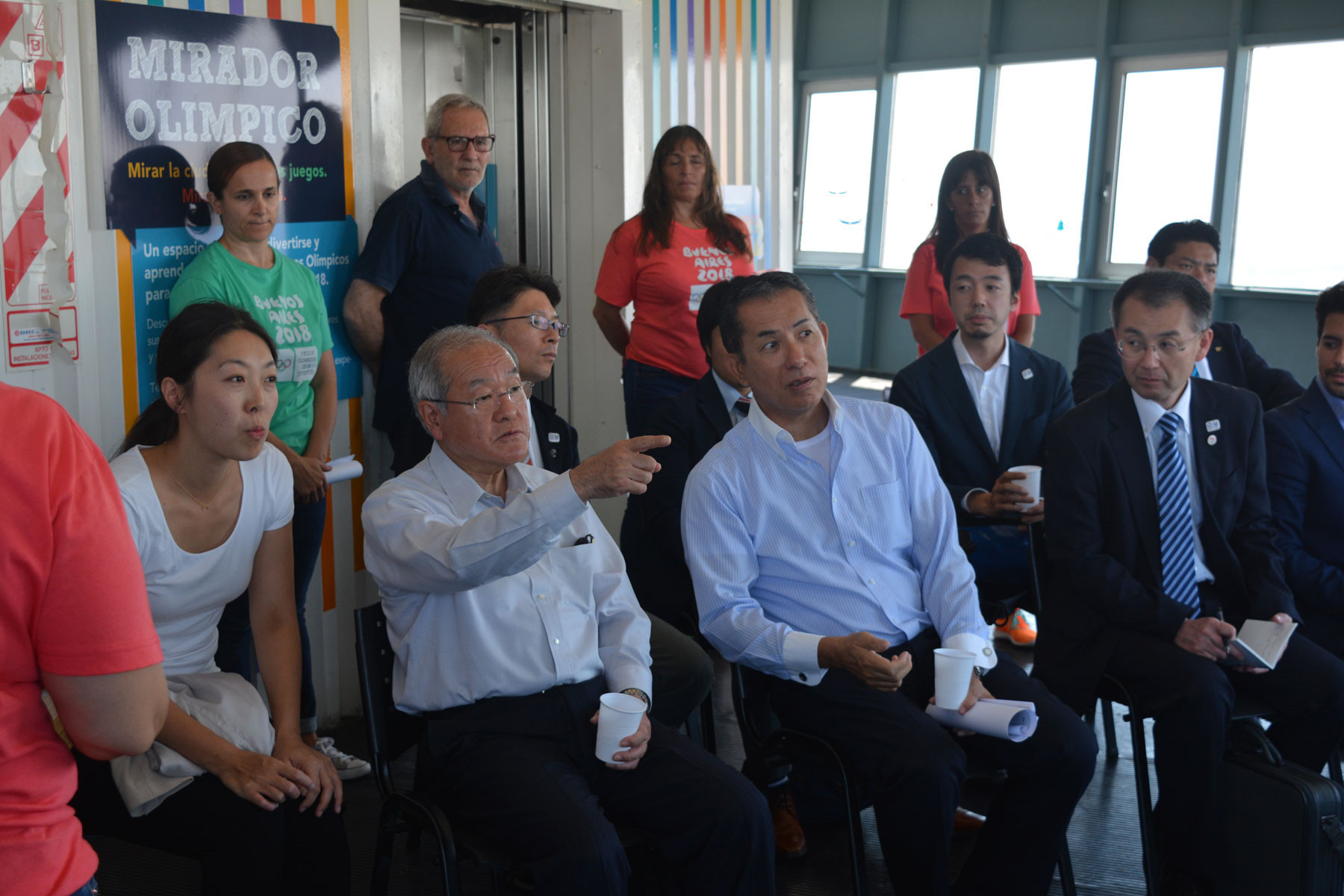 Tokyo 2020 Minister visits Rio 2016 and Buenos Aires 2018 venues