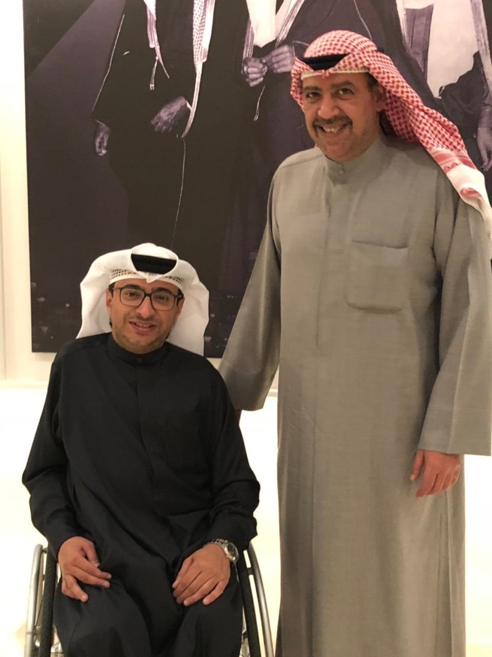APC President Majid Rashed has met with OCA counterpart Sheikh Ahmad Al-Fahad Al-Sabah in Kuwait to discuss forging closer working ties between the two organisations ©APC
