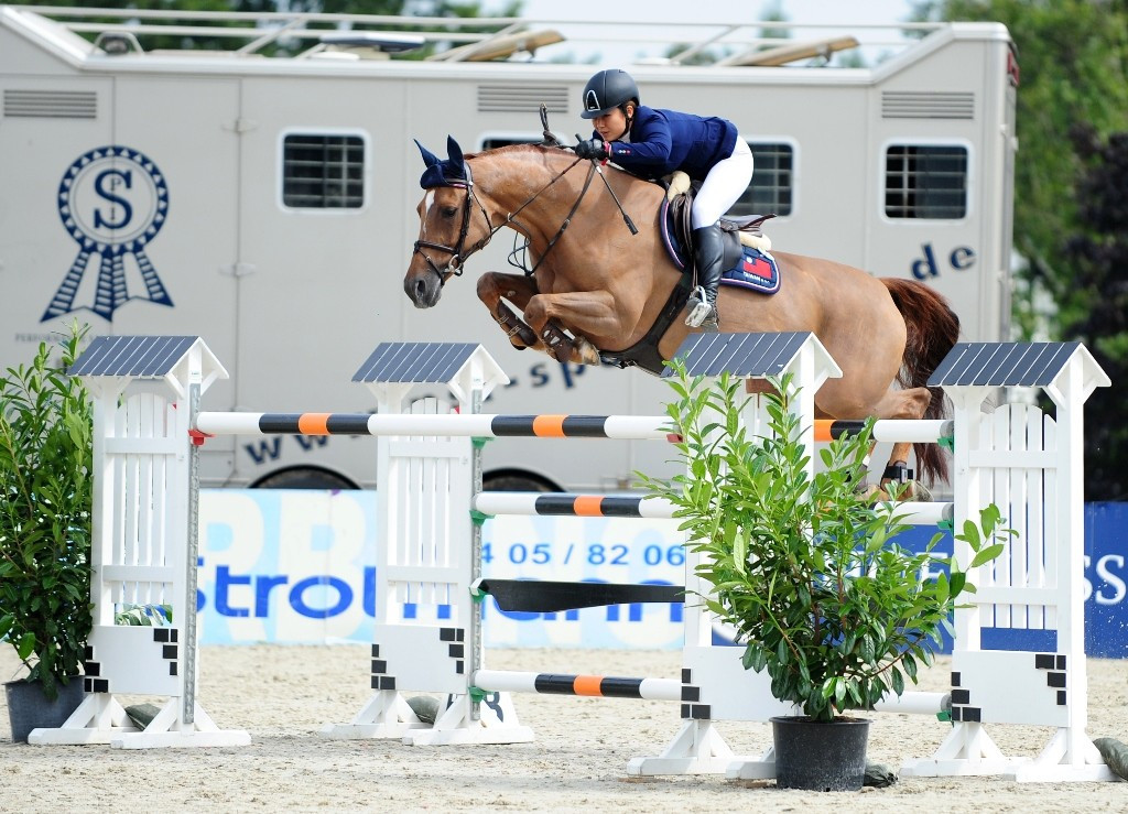 Chinese Taipei's Wong claims Rio 2016 place at International Equestrian Federation Olympic qualifier