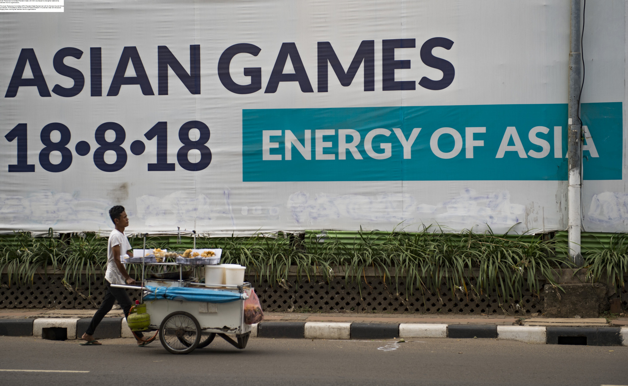 Among the main topics of discussion was the 2018 Asian Games in Jakarta and Palembang ©Getty Images