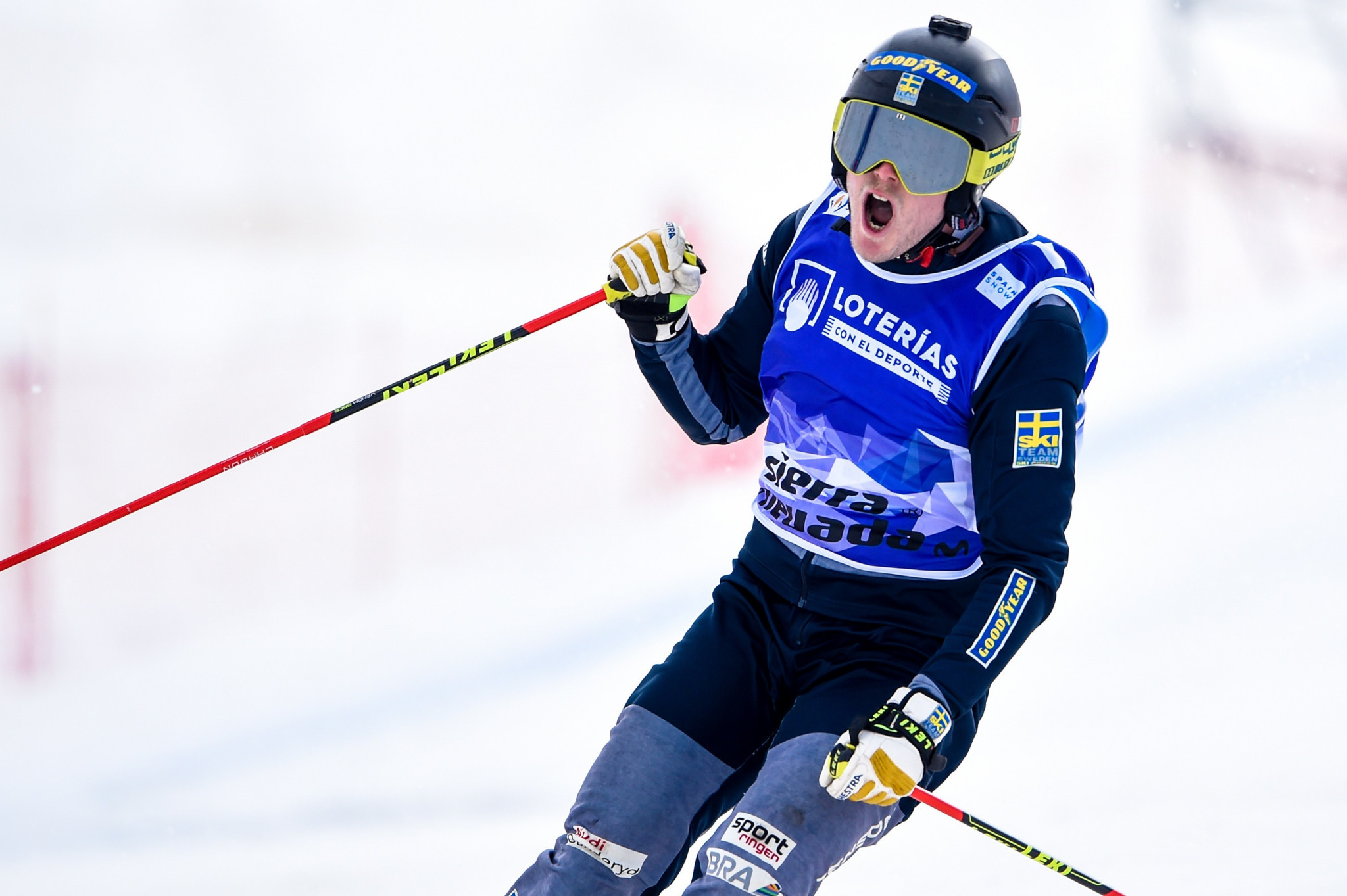 Home favourites dominate first day of qualification at FIS Ski Cross World Cup in Idre Fjäll