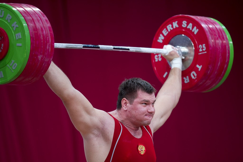 Action from the 2013 World Weightlifting Championships in Wroclaw, Poland