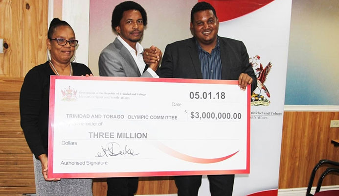 The Trinidad and Tobago Olympic Committee has received a cash injection ©TTOC