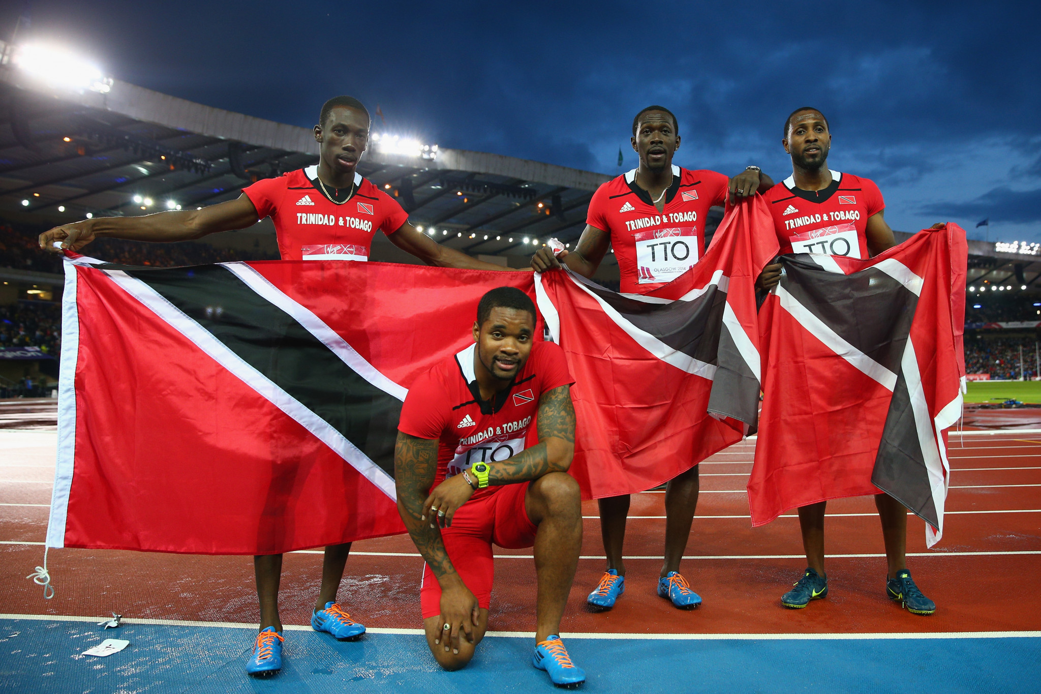 Trinidad and Tobago will aim to improve on their Glasgow 2014 Commonwealth Games haul in Gold Coast ©Getty Images