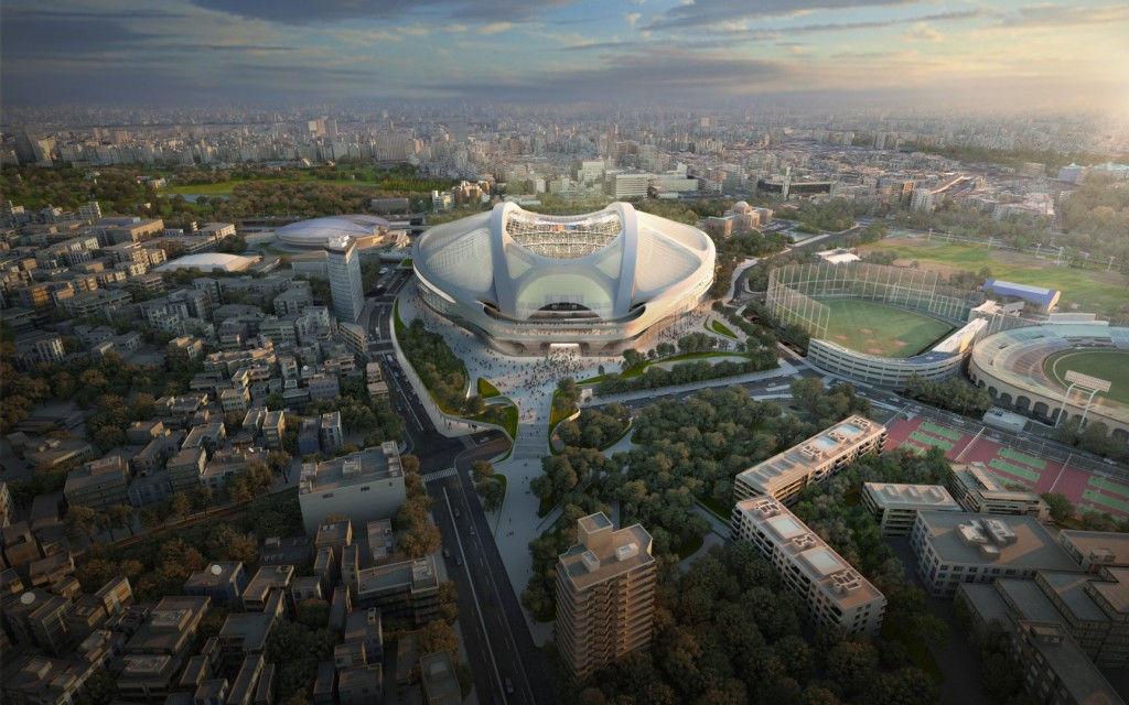 Zaha Hadid Architects have released a 20 minute video defending themselves over its controversial design for the new National Stadium in Tokyo ©Zaha Hadid Architects