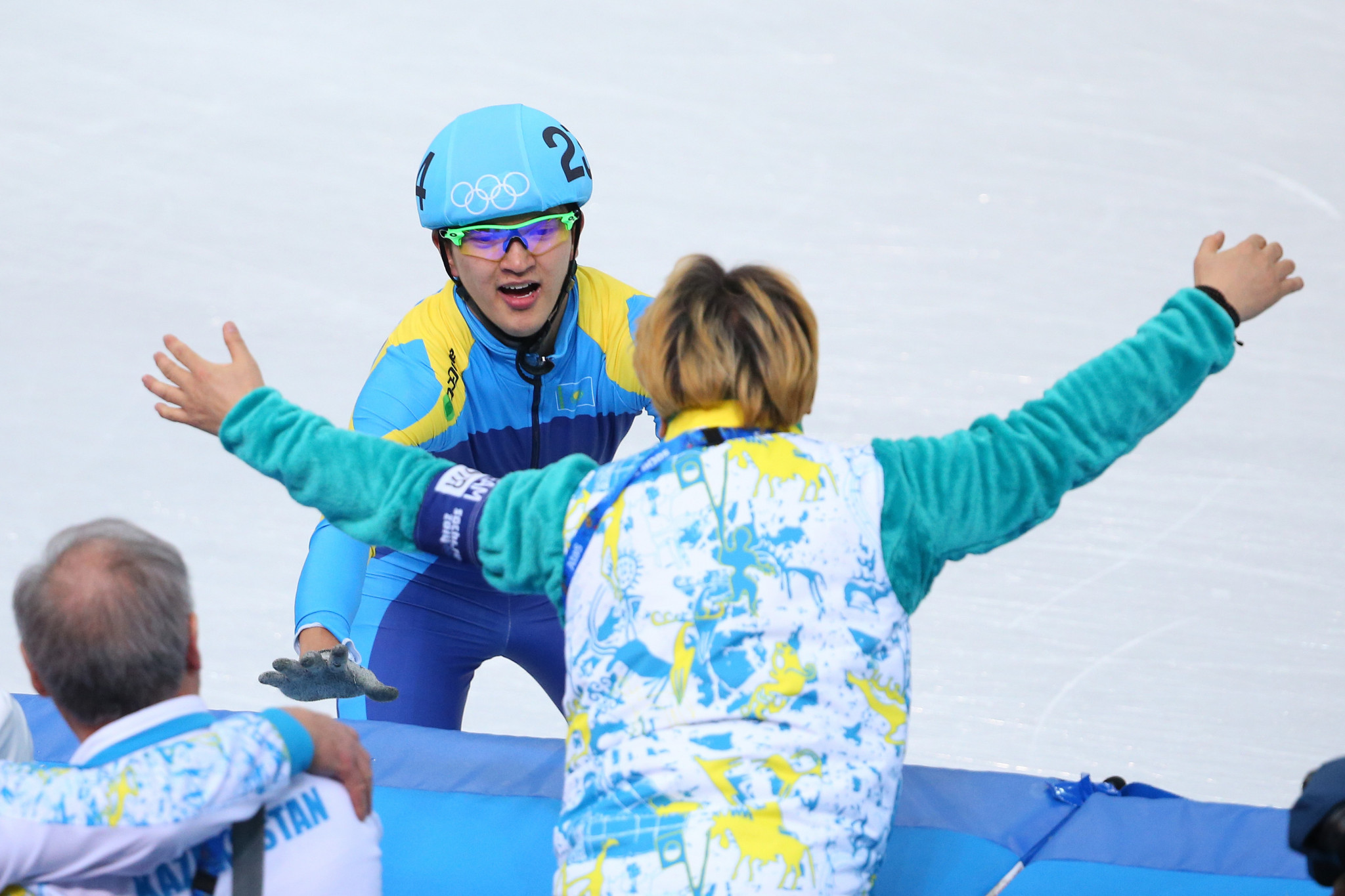 Abzal Azhgaliyev will carry the Kazakh flag at the Pyeongchang 2018 Opening Ceremony ©Getty Images
