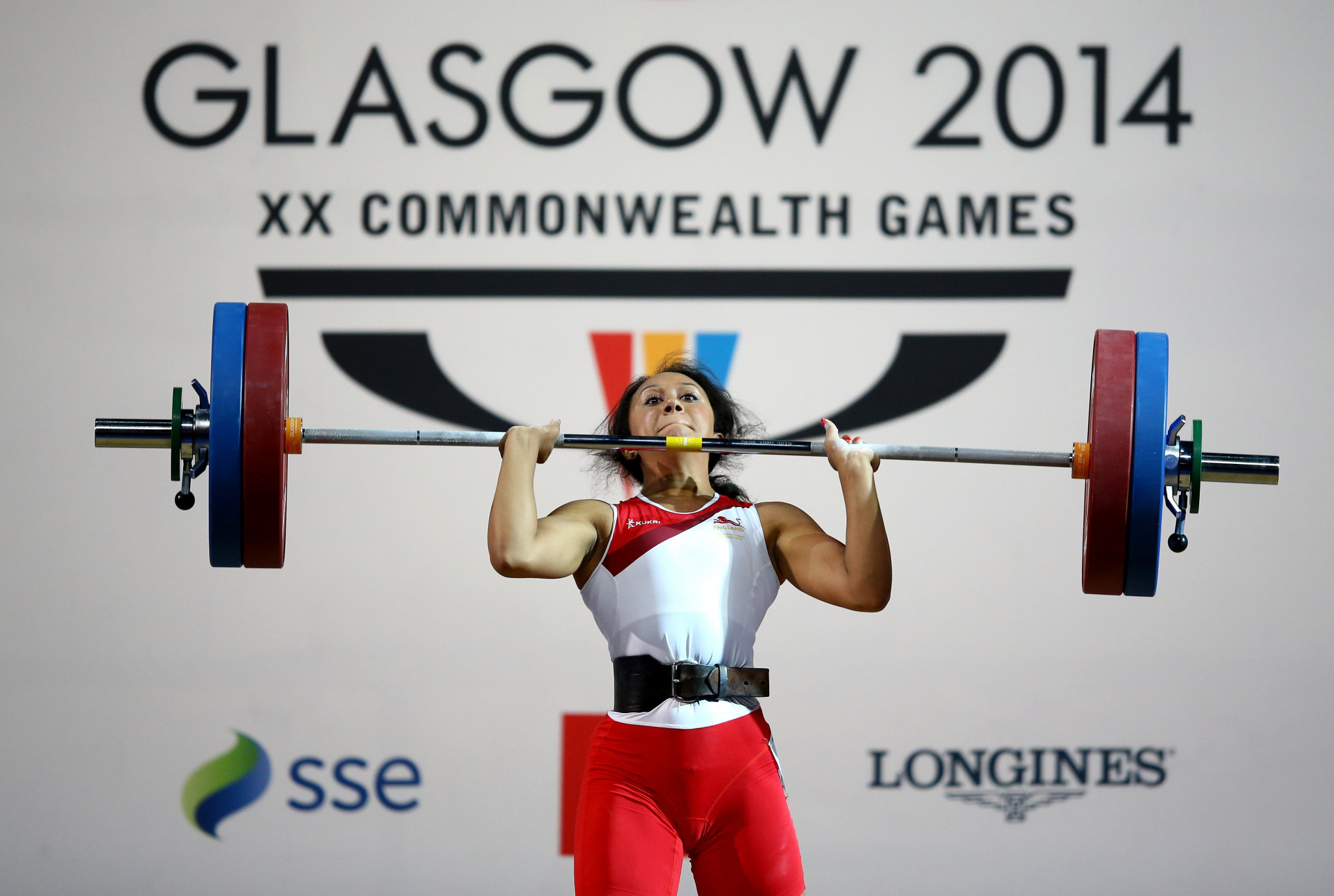 Zoe Smith won gold at the 2014 Commonwealth Games in Glasgow ©Getty Images