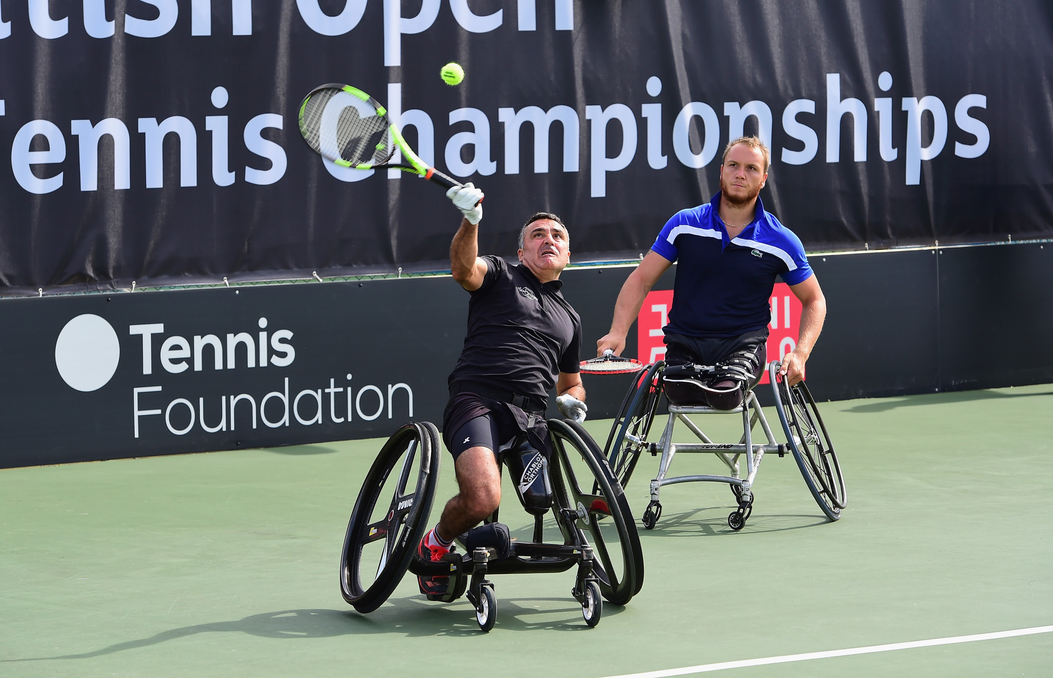 Houdet and Peifer secure men's doubles title at Sydney International Wheelchair Tennis Open