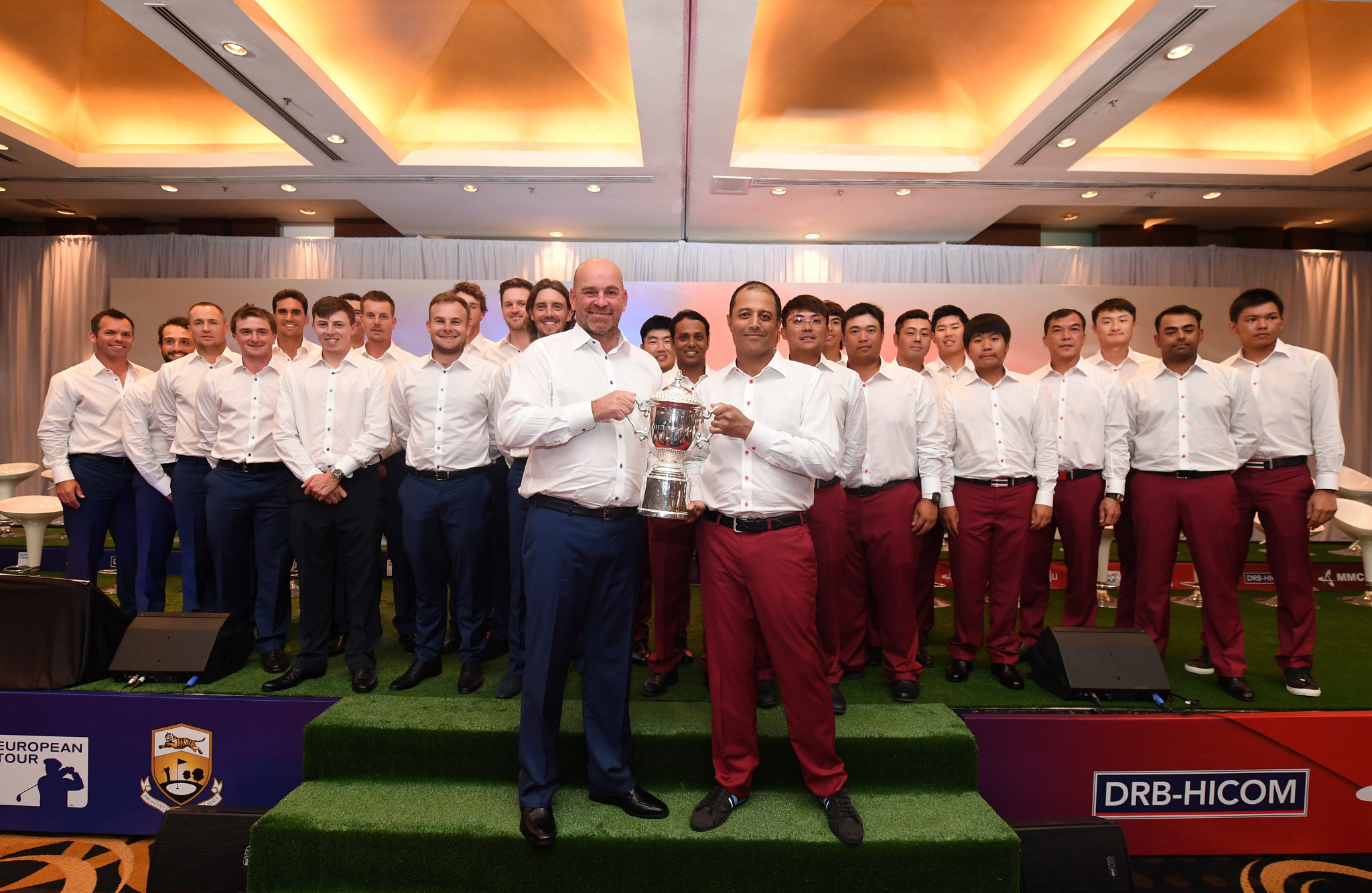 EurAsia Cup: Asia comeback leaves Europe trailing by one point