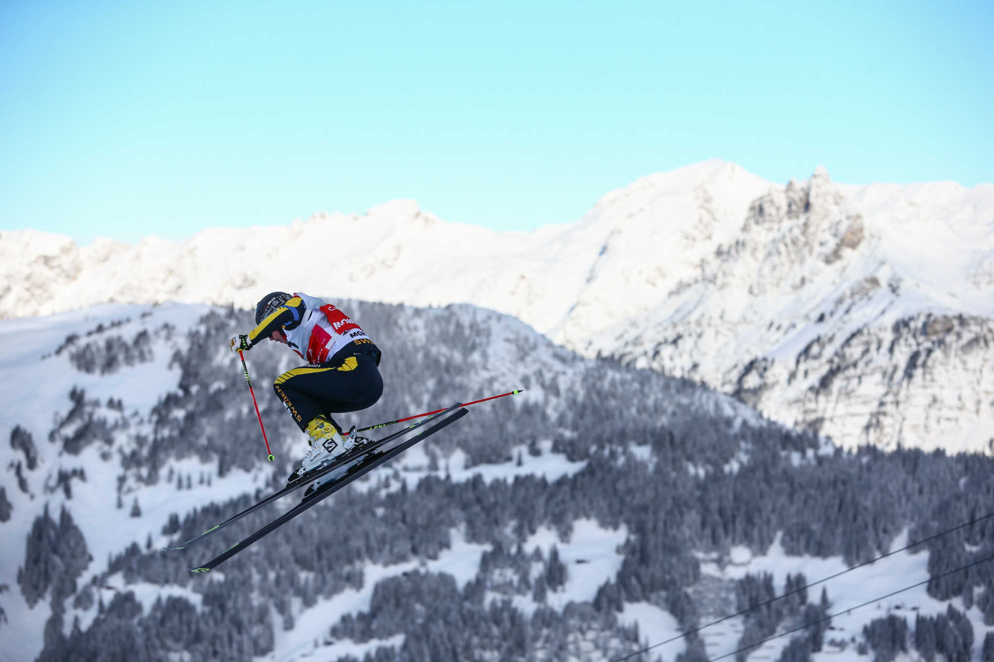 Sweden's Näslund keeps up good form on home snow in Freestyle Ski Cross World Cup