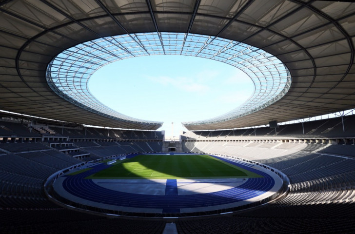 The Olympiastadion in Berlin will stage the 2018 European Athletics Championships