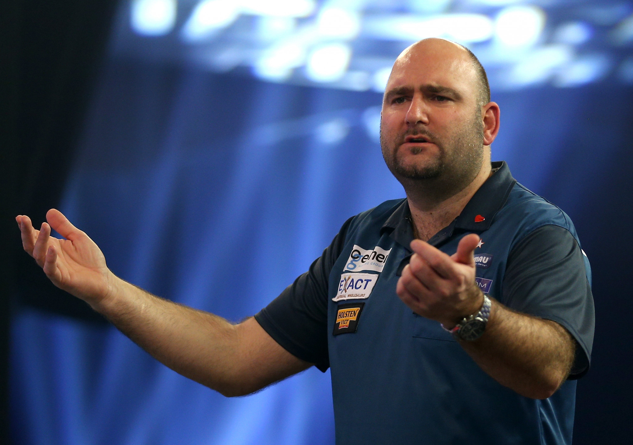 Scott Waites, of England, will face Glen Durrant in the semi-finals of the BDO World Darts Championship at Lakeside Shopping Centre, Thurrock, England ©Getty Images