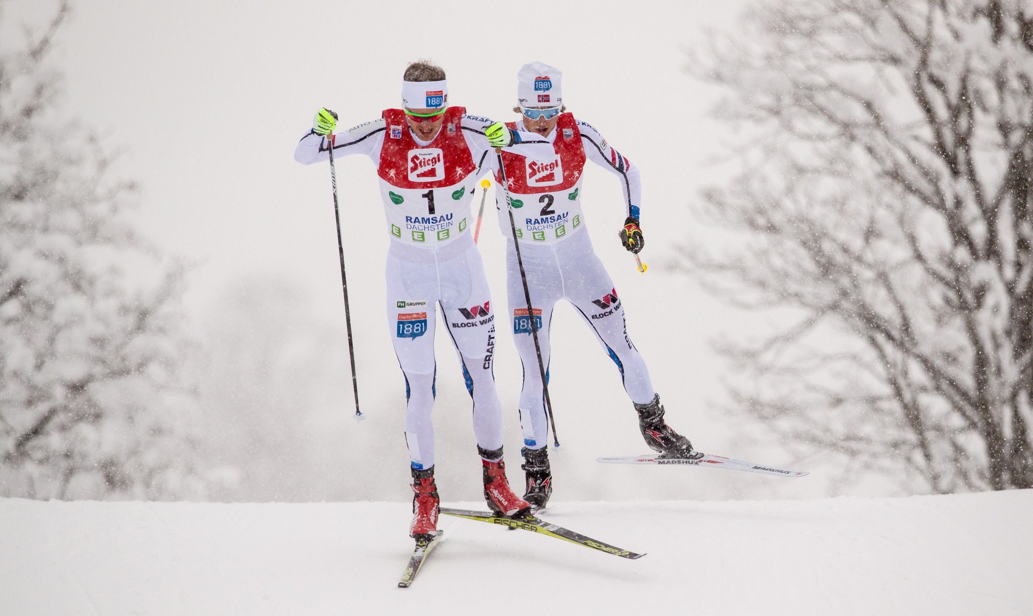 Graabak secures first victory of season at FIS Nordic Combined World Cup in Italy