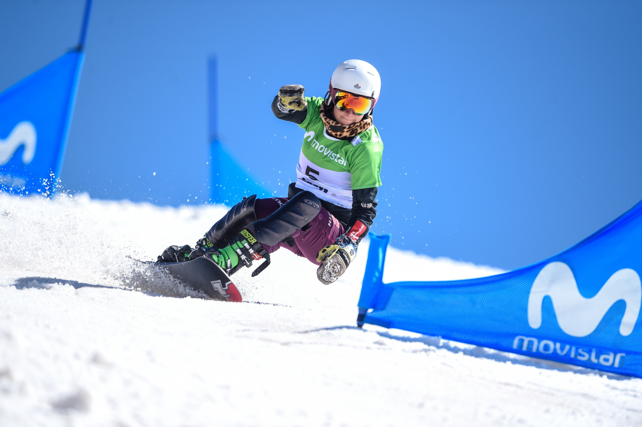 Ramona Theresia Hofmeister won a gold medal at the 2016 FIS Snowboard Junior World Championships ©Getty Images
