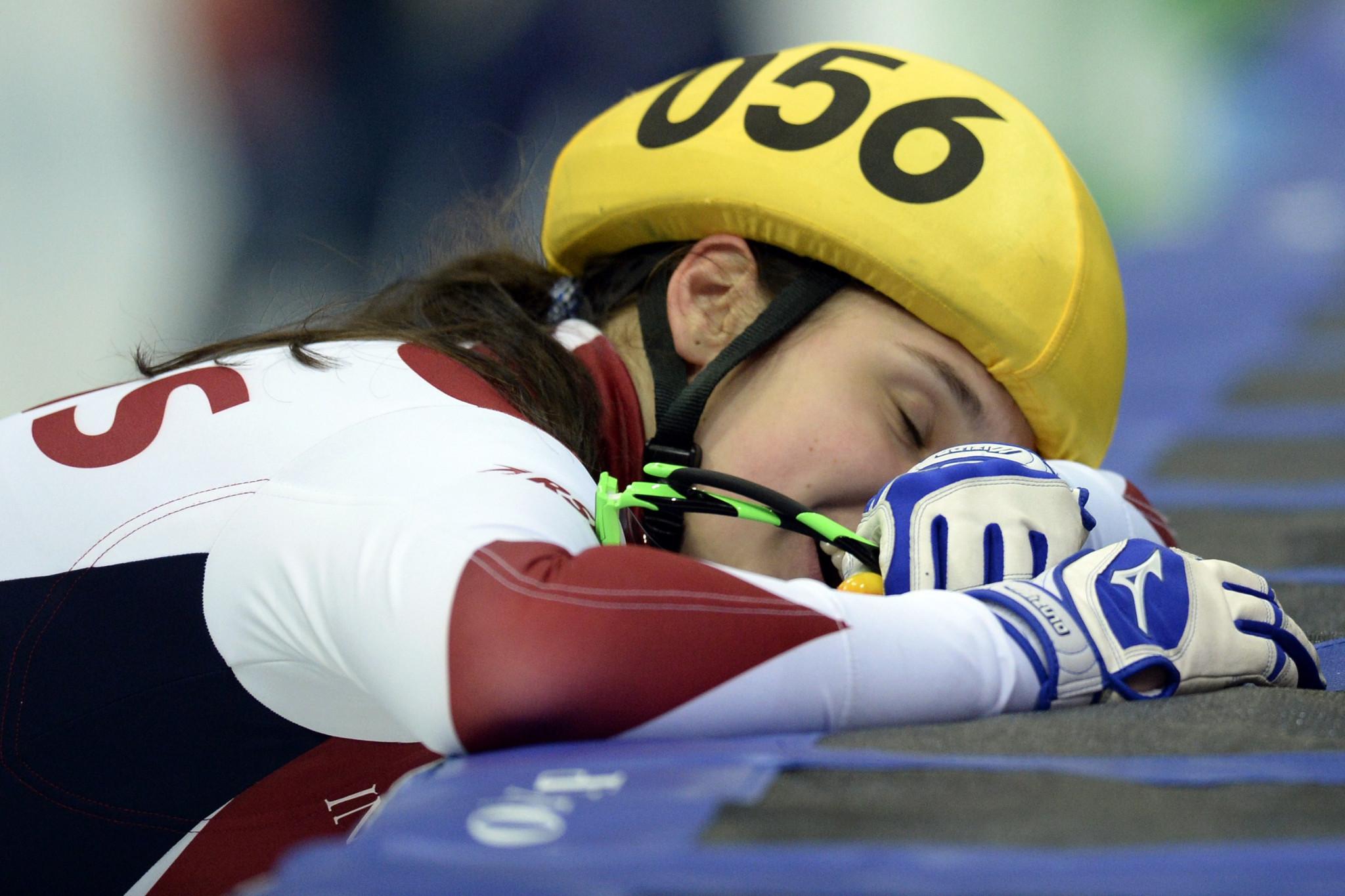 Prosvirnova among qualifiers as European Short Track Championships begin in Dresden