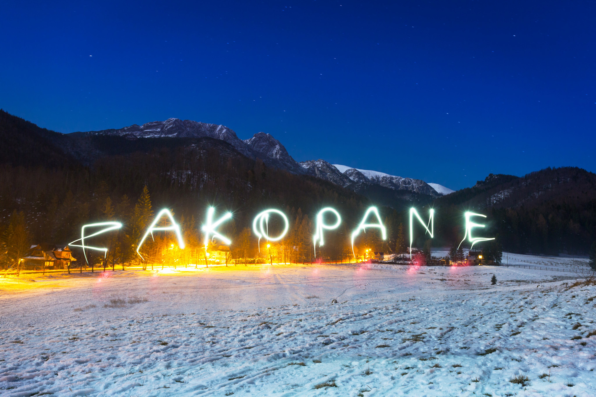 Zakopane is known as the winter capital of Poland ©Athletes Without Limits