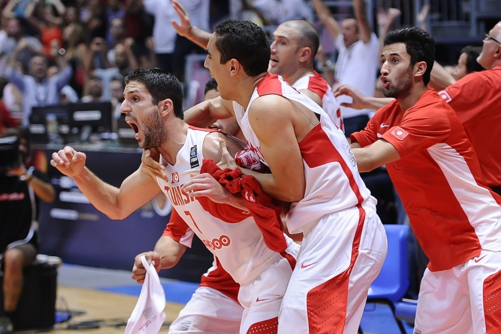 Hosts Tunisia move into last eight at African basketball Championships