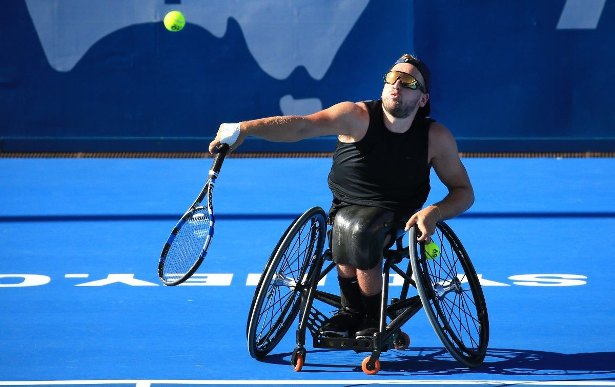 Dylan Alcott of Australia claimed victory in the quad singles event ©Getty Images