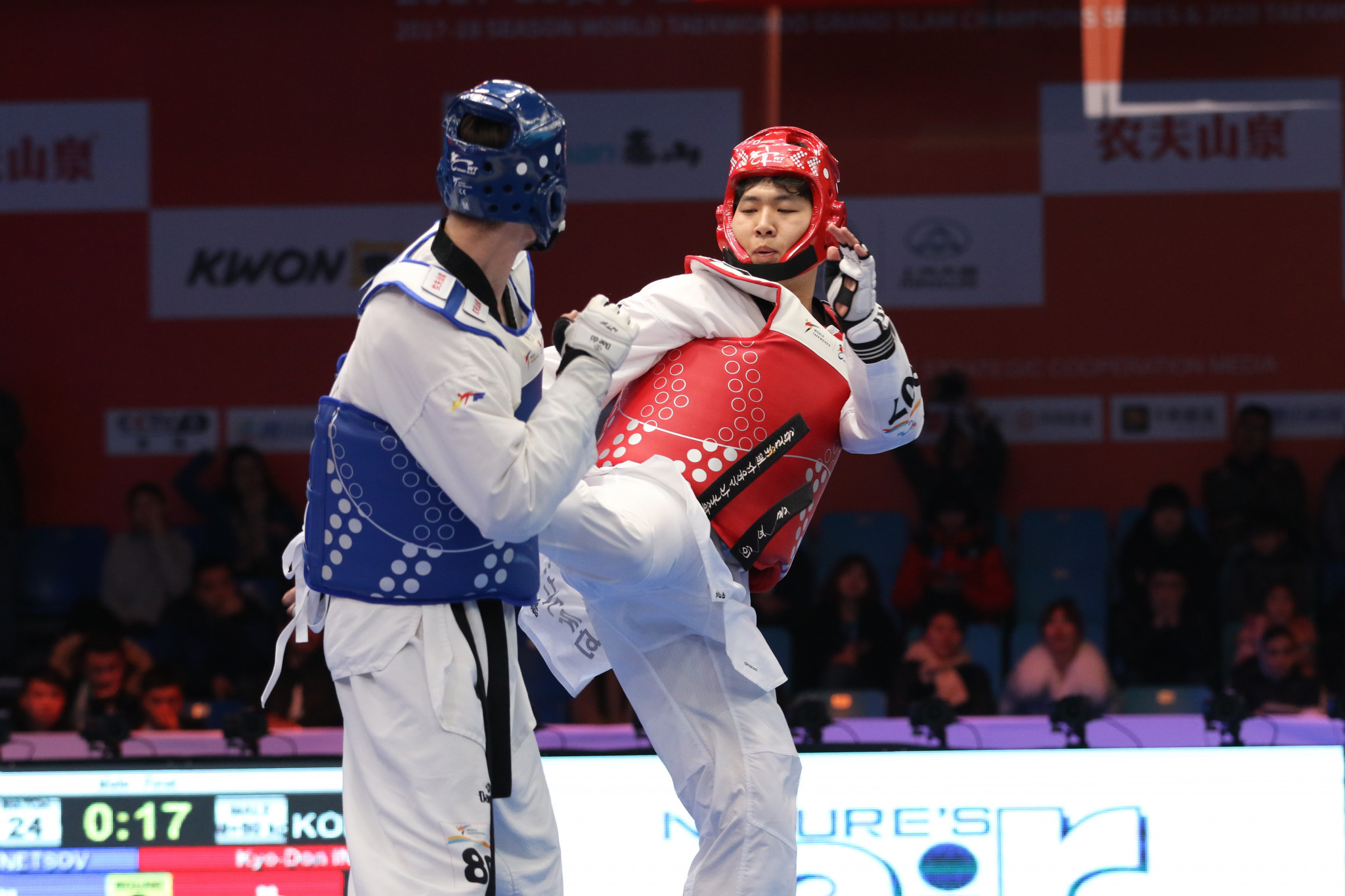 South Korean claims shock World Taekwondo Grand Slam Champions Series after winning cancer battle