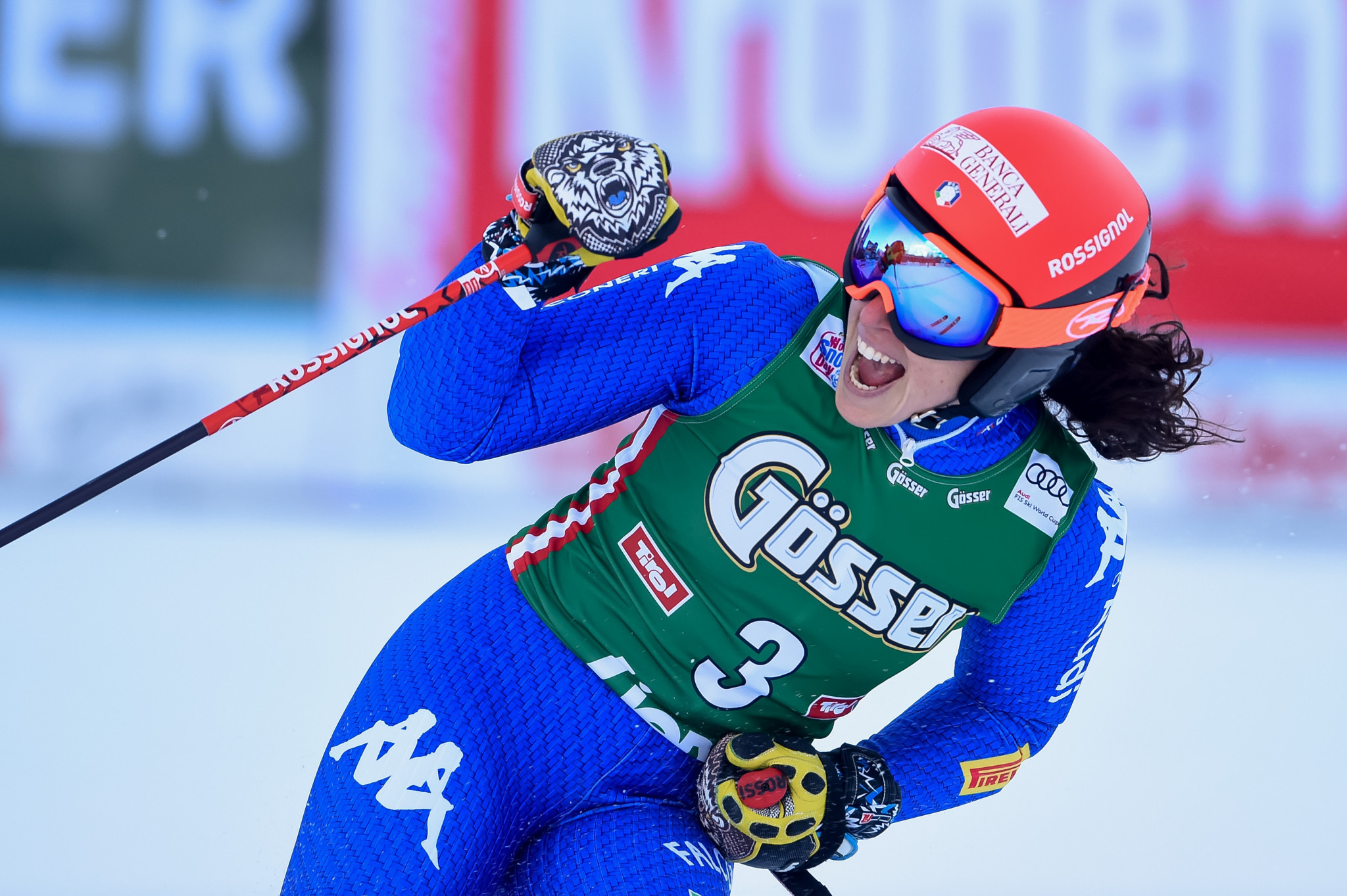 Brignone claims super-G title in Bad Kleinkirchheim