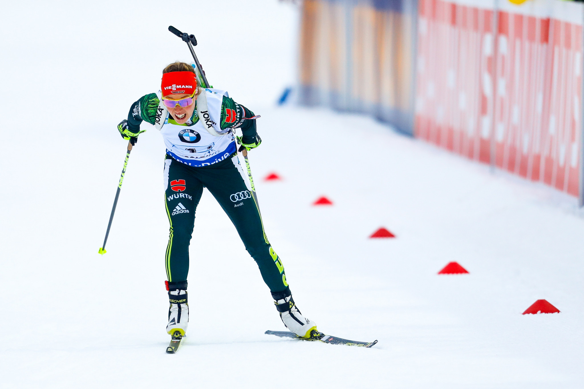 Dahlmeier leads Germany to home relay triumph at IBU World Cup
