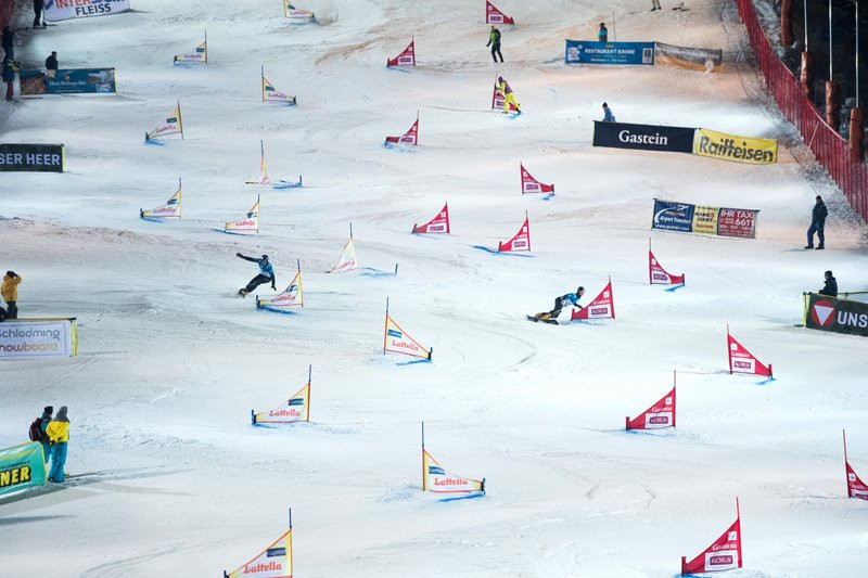 Austrian teams earned gold and bronze in Bad Gastein ©FIS