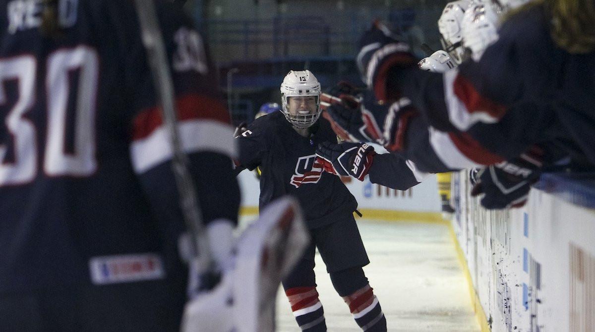 United States thrash Sweden to win fourth successive IIHF Women's Under-18 World Championship