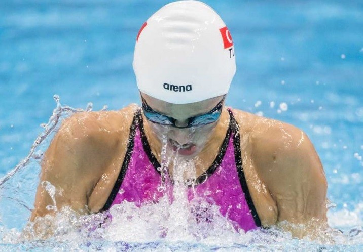 Turkish delight for Gunes on second day of FINA World Junior Championships